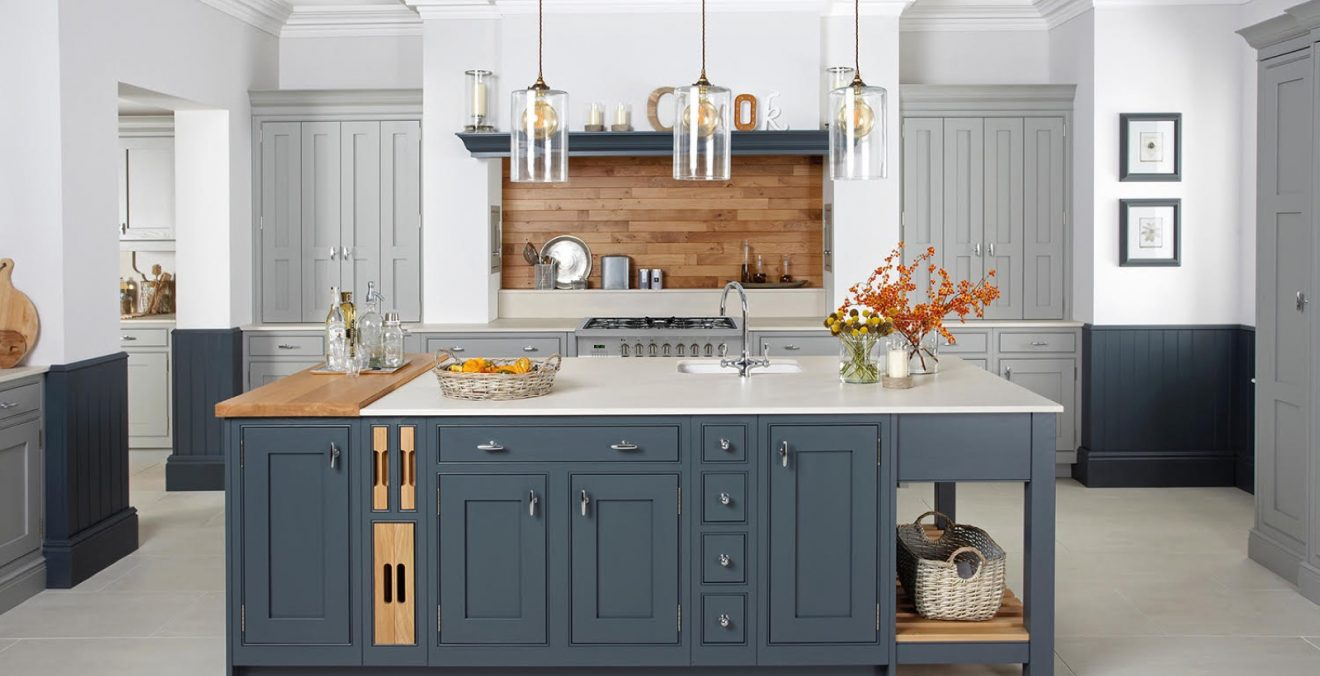 Attrayant In Frame   Blue. Featured Kitchens ...