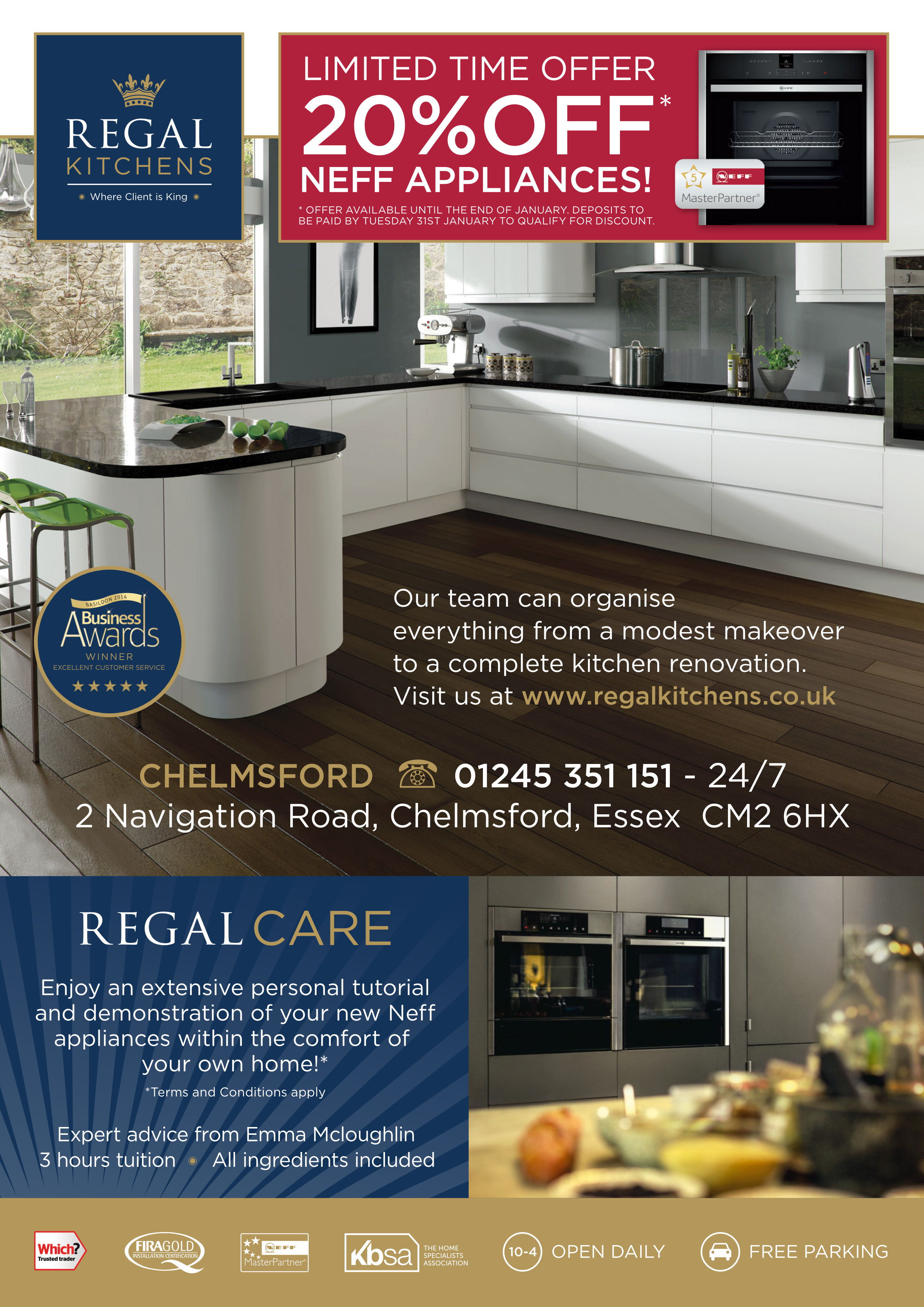 Awesome Regal Neff Offer Regal Kitchens In Essex Download Free Architecture Designs Estepponolmadebymaigaardcom