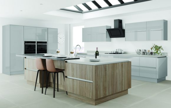 Gloss Grey - Bard Oak